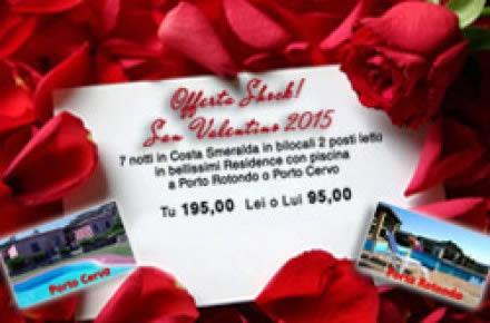 Offerta Last Minute San Valentino Sardegna